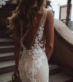 Such a gorgeous look by Captured by Wedding Day Wedding Planner Your Big Day Weddings Wedding Dresses Wedding bells Wedding Goals, Our Wedding, Lace Wedding, Wedding Greenery, Backless Wedding, Wedding Decor, Wedding Stuff, Wedding Rings, Vestidos Vintage