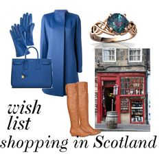 """""""shopping in Scotland"""" by granmaboat on Polyvore"""