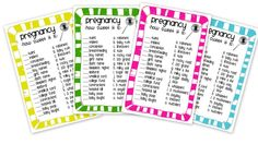 Candy Bar Baby Shower Game Free Printable - LOVE this game. #babyshower