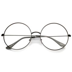Womens Quality Hand Polished Clear Lens Large Oversized Fashion Glasses