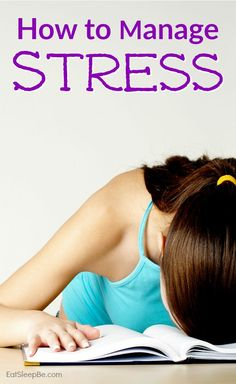 If you don't know how to manage stress, it may just get the better of you. This may help!