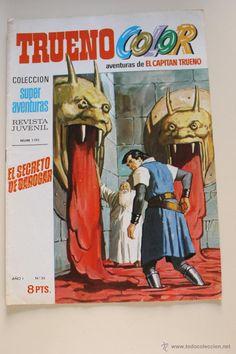 COMIC TRUENO COLOR - LAS AVENTURAS DEL CAPITAN TRUENO - AÑO I Nº 35 -22 DE DICIEMBRE DE 1969