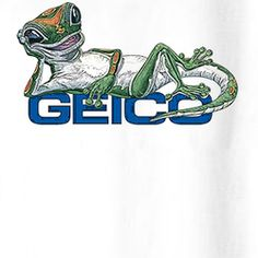 Geico Lizard Funny Mascot T Shirt