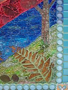 mosaic blue grout - Google Search