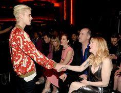 Pin for Later: Ce Défilé de Mode a Presque Réuni Plus de Célébrités Que les Golden Globes Justin Bieber et Courtney Love