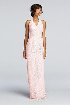 Hinton Wedding - Extra Length All Over Lace Sheath Dress 4XLF19040