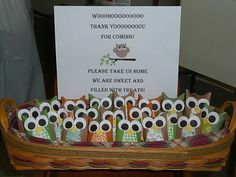 baby shower owl favors...by Shae