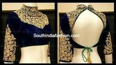 lehenga blouse patterns front and back