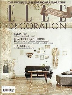 ELLE DECORATION Magazine(UK)- March 2013 - Be Inspired Subscribers Limited Edtion cover