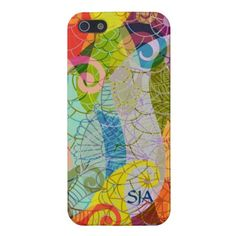 Psychedelic Design iPhone Case iPhone 5 Cases