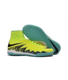 online store 698f3 402c6 Nike HypervenomX Proximo IC SÁLOVÁ high tops kopačky žlutý zelená černá