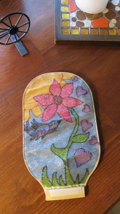 Have some fun and decorate your ostomy bag. Colored sharpies (fine tip) used here