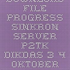 Download File Progress Sinkron Server P2TK DIkdas 3-4 Oktober 2014 | andhin dot net