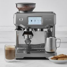 Breville Barista Touch Espresso Maker #williamssonoma
