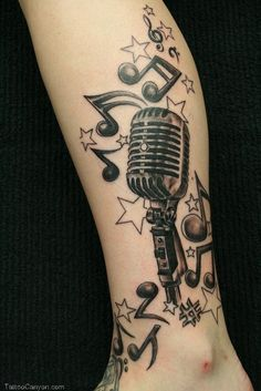 Download Music Tattoo Designs For Girls 2011 Beautiful  in many sizes.