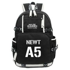 Maze Runner The Death Cure backpack for teens Newt A5 high school bags ($50) ❤ liked on Polyvore featuring bags, backpacks, day pack rucksack, backpack bags, daypack bag, knapsack bag and day pack backpack
