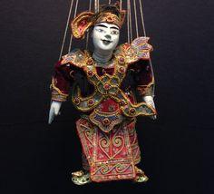 Marionette from Burma Myanmar by EthnicArtandJewelry on Etsy, $119.95