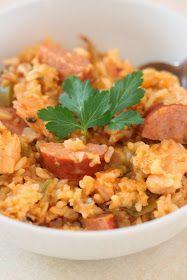 Chicken and Sausage Jambalaya | Tortillas and Honey