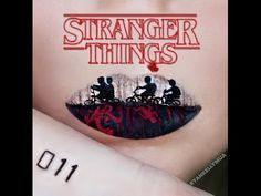 Stranger Things Lip Art