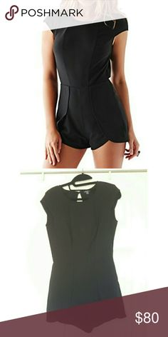 Guess romper Guess tulip romper. Used once. Great condition! I also have it in white. Open back Guess Pants Jumpsuits & Rompers