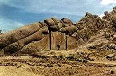 Possible door to wormhole in Titicaca, Peru. A Gateway to the Lands of the Gods