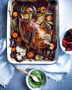 Simmone Logue's incredibly tender slow roasted lamb shoulder recipe is perfect for a summery Sunday lunch.