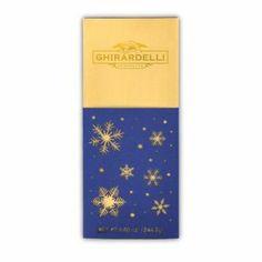 Ghirardelli Chocolate Snowflake Silhouette Chocolates
