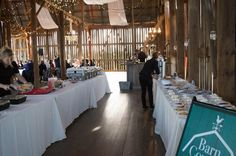 10 out of 10 Belleville Brides who get married in a barn agree: Barn and Wedding Catering, Got Married, Brides, Wedding Day, Barn, Clouds, Table Decorations, Pi Day Wedding, The Bride