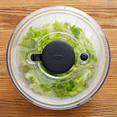 OXO Salad Spinner #williamssonoma - Yes, I really want a salad spinner