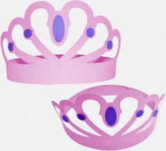 Silhouette Design Store - View Design #81633: princess crown