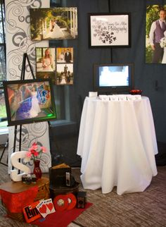 Tammy Sue Allen Photography - Bridal Show Booth Display. #wedding #photography