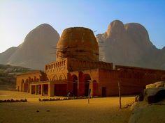 Khatmiyya Sufi Mosque, Kassala, East Sudan.