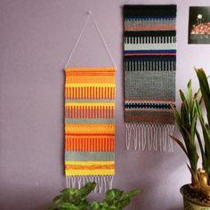 ❤️ #weaving #weaveweird #weaveweird #tkanie #craft #handmade #textiledesign #homedecor #wallhanging #textiles #krokbragd #raanu
