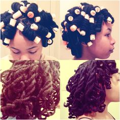 Locs style #curls #rods #dreadlocks #dreads