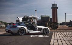 Mercedes-Benz SLS AMG by Prior Design PD900GT #mbhess #mbtuning #priordesign