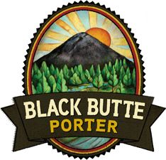 "Black Butte Porter - Deschutes Brewery, Bend, OR : A ""supremely black porter"", the beer ""start6s out with fresh-brewed coffee and roast grain"" aromas. ""Caramel cream sweetness introduces the palate"" with a ""long, dry finish"". It isn't a strong ale at 5.2% ABV, but it is balanced and ""drinks as a session""."