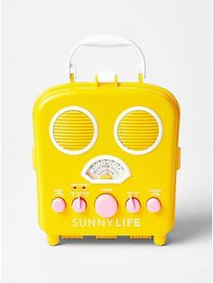 Sunnylife® portable speaker - Craving some sun from down under? Gap has teamed up with Australian brand Sunnylife® to brighten up your beach day accessories.