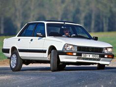 Peugeot 505 cornering action