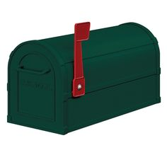 Salsbury Industries Heavy Duty Rural Post Mount Mailbox