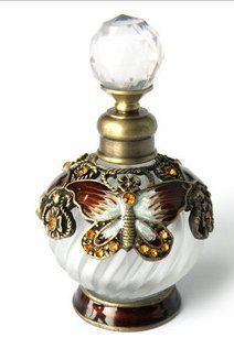 25ml clásica botella de perfume de mariposa