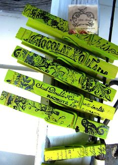 Clothespins & Hangers Upcycled & Repurposed