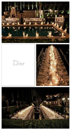 Dior dinner party
