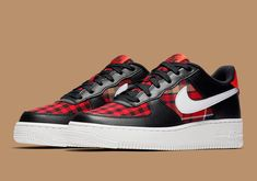promo code 1df1a d7361 Nike Air Force 1 Low Flannel Sneakers Air Force Ones, Air Force 1,