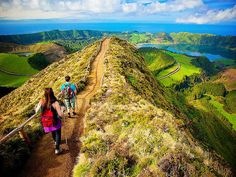 Discover the stunning views of the Azores.