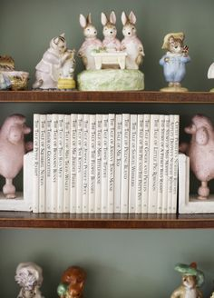 The entire collections of Beatrix Potter