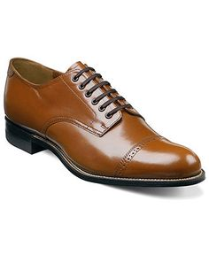 Stacy Adams Shoes, Madison Cap Toe Oxfords - - Macy's