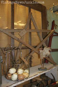 Five Minute DIY Wooden Stars   Vintage News Junkie