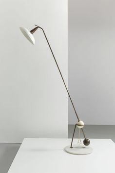 LAMPADAIRE 1036 PAR GINO SARFATTI – ARTELUCE 1946