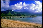 Hanalei Bay, Kauai. Miss it so much. One of the most beautiful places on earth.