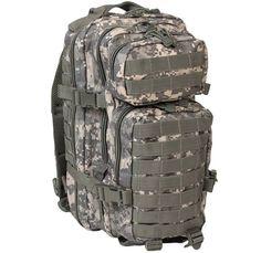 Mil-Tec Rucksack US Assault Pack, klein, AT-Digital / mehr Infos auf: www.Guntia-Militaria-Shop.de